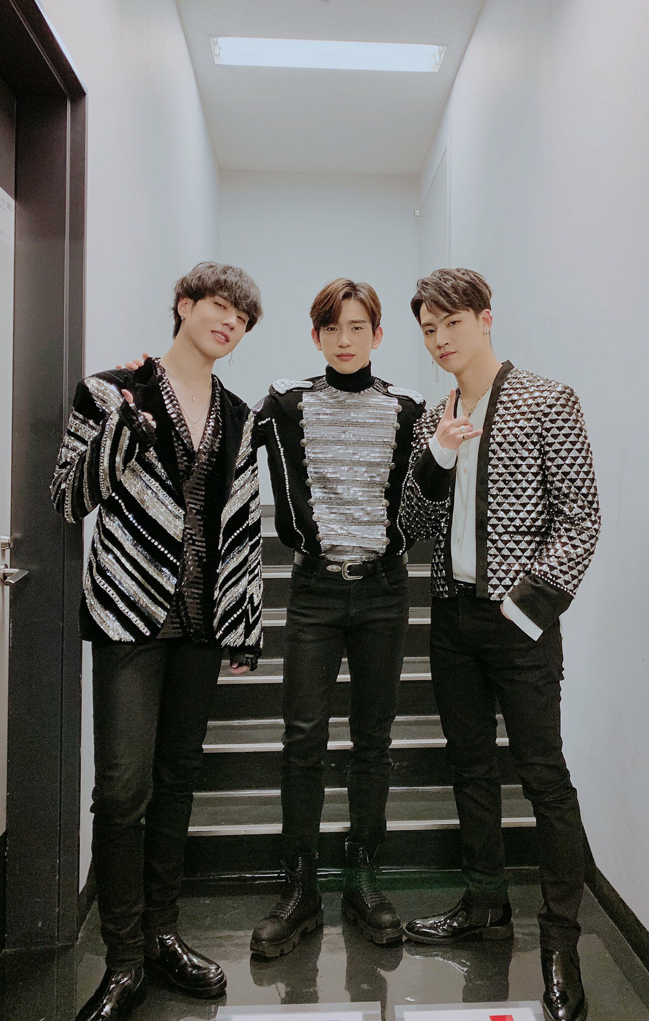 PIC] 181212 GOT7 Official Twitter – JB, Jinyoung & Yugyeom